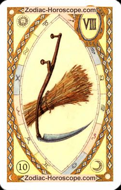The scythe, monthly Love and Health horoscope June Aries