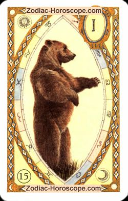 The bear, monthly Love and Health horoscope July Aries