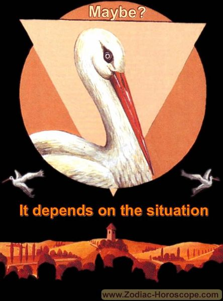 The stork answers maybe