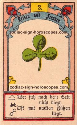 The clover, monthly Aries horoscope July