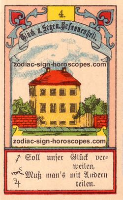 The house, monthly Aries horoscope July